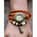 Часы винтаж женские с совёнком