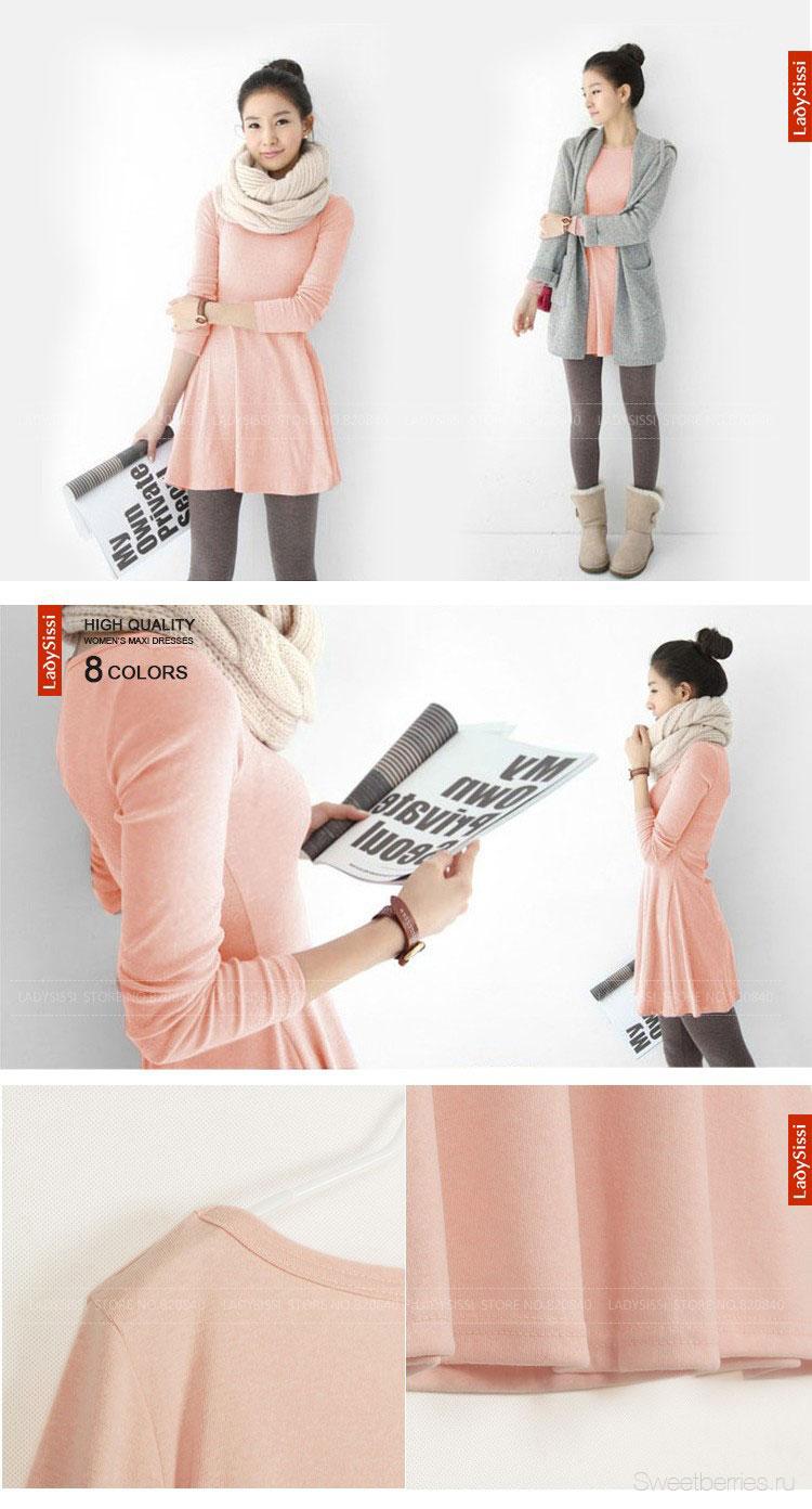 платья из тонкого хлопка
