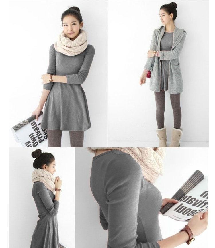 платье из плотного хлопка